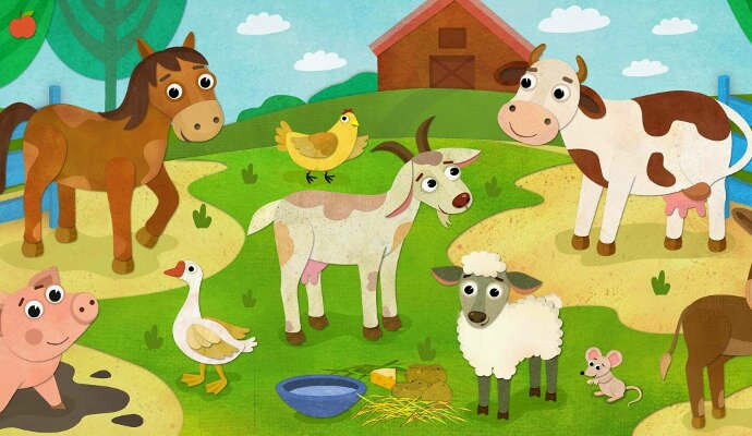 Загадки про домашних животных для детей
