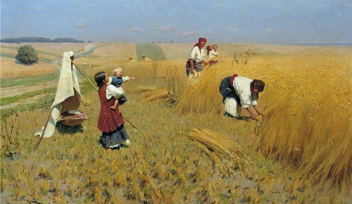 Пословицы про сбор урожая