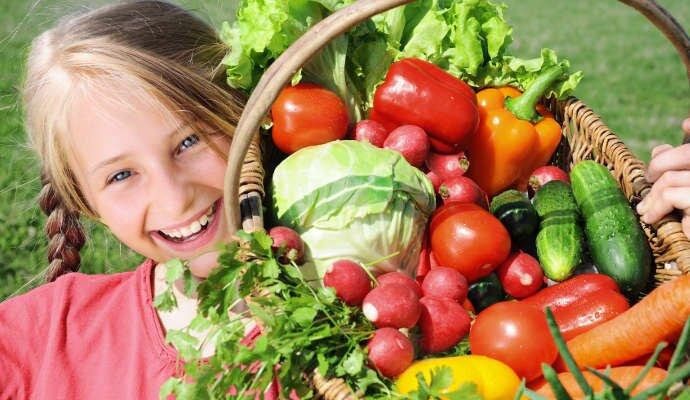 Загадки детям про овощи с ответами