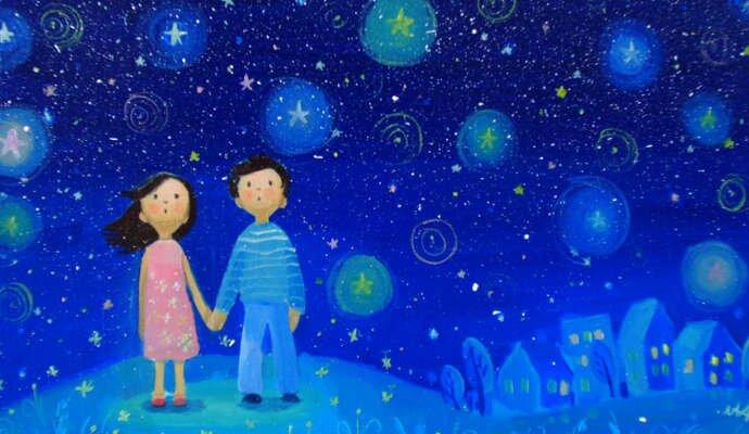 Загадка про звезды на небе